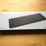 Macユーザーが膝上用にMicrosoft All-in-One Media Keyboardを購入した感想・レビュー