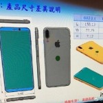 iPhone 8の本体サイズ、デザインが判明か⁉︎背面に指紋認証搭載?