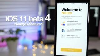 「iOS 11 beta 4」の20以上の変更点をまとめた動画が公開!