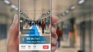 これがARの可能性!iOS 11のマップは現実世界に道筋を表示可能に!?
