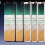 iPhone 8の5色カラーのレンダリング画像が公開!