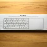 Magic Keyboard/TrackPad 2を合体させるドック「Magic Bridge」の購入&外観レビュー