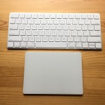 Magic KeyboardとMagic Trackpad 2の大きさ&外観比較