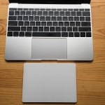 Magic Trackpad 2とMacBook 12トラックパッドの大きさ&操作感比較