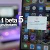 「iOS 11 beta 5」の20以上の変更点をまとめた動画が公開!