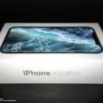 「iPhone X Edition」とされる外箱画像が流出!しかし、壁紙画像は既存のもの?