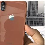 iPhone 8カッパーゴールドのベゼルは白?黒?モックアップ画像など複数公開
