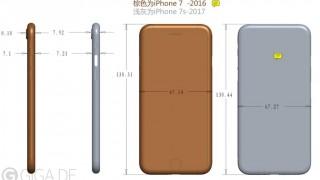 iPhone 7sは7より0.1mm大きく、カメラの突起は小さくなる?