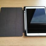 シンプルデザインでApple Pencil内側収納が便利!iPad Pro 10.5用iVAPO手帳型ケースレビュー
