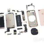 「iPhone 8」の分解レポートが公開!バッテリー容量はやや減少している模様