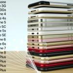 初代iPhoneからiPhone 8までのベンチマーク、起動時間、スピーカー音量などの比較した動画が公開!