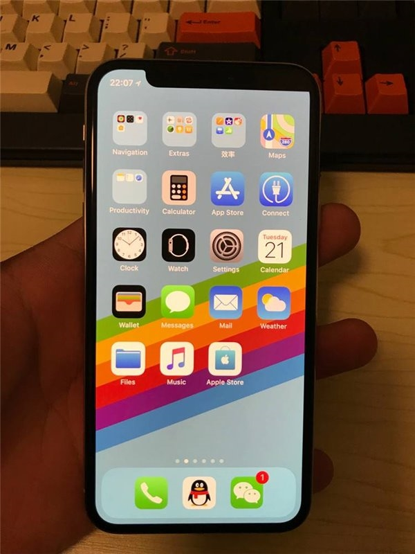 iphone x Black out-2