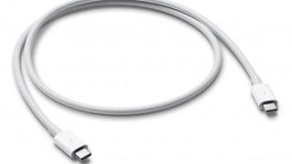 ついにApple純正Thunderbolt 3ケーブルが登場!40Gbps転送、100W充電対応
