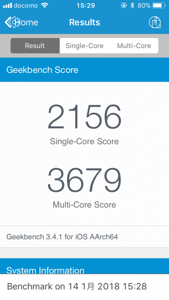 iPhone SE benchmark-8