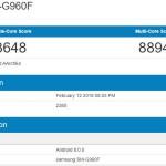 Galaxy S9のベンチマークが流出!iPhone Xに劣るスコアに