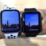 【画像】Apple Watch 44mm/42mm/40mmのサイズ感を試着して比較してみた