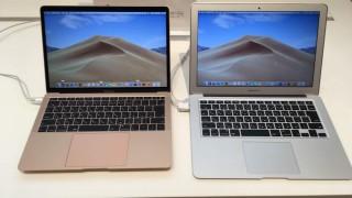 【実機画像】新旧MacBook Air 13インチの大きさを比較してみた