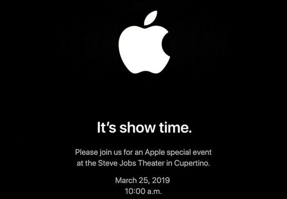 Apple event 2019 March