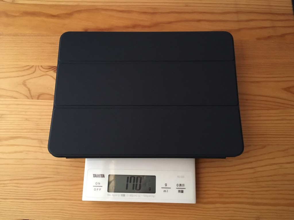 smart folio weight