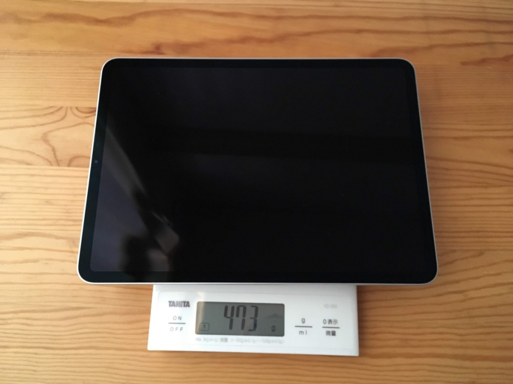 iPad 11 weight