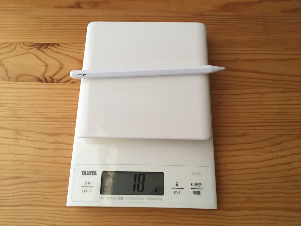 Apple Pencil 2 weight
