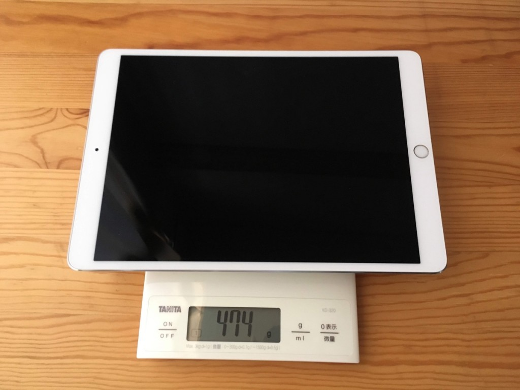 iPad 10.5 weight