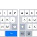 「iOS 8.3」ではキーボードのレイアウトが少し修正されている模様