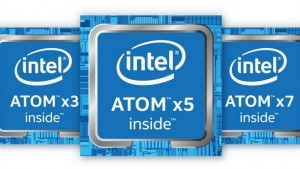 Atom x7-Z8700、x5-Z8500、x3-Z8300のCPU、GPU性能比較